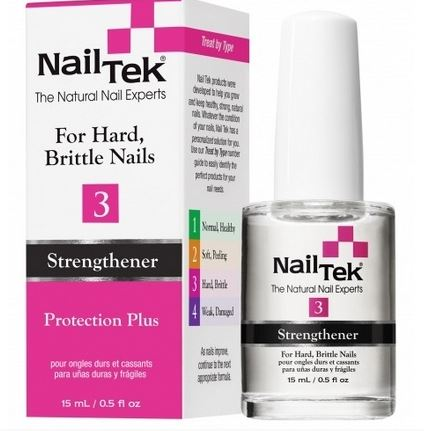 NAIL TEK Укрепитель и усилитель роста для сухих, ломких ногтей / THERAPY 3 15мл