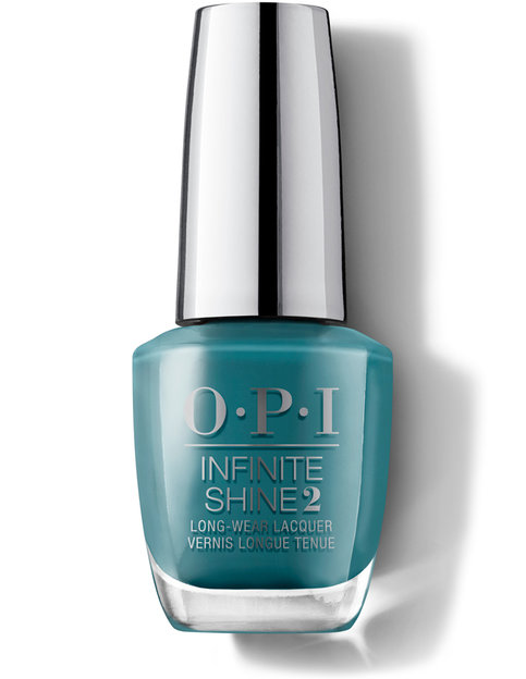 OPI Лак для ногтей / Teal Me More, Teal Me More Infinite Shine Long-Wear Lacquer 15 мл opi лак для ногтей no stopping zone infinite shine 15мл
