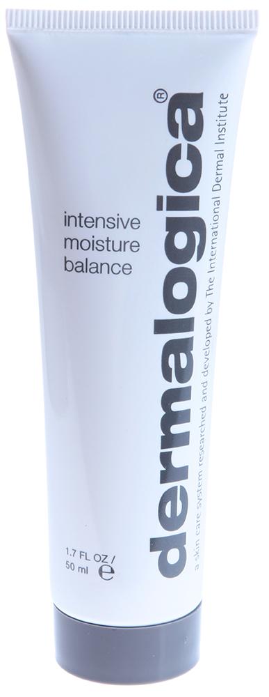 DERMALOGICA Увлажнитель интенсивный / Intensive Moisture Balance 50млКремы<br>Интенсивный увлажнитель Intensive Moisture Balance   средство, созданное для ухода за сухой кожей. Увлажнитель обеспечивает максимальную защиту и питание сухой кожи. Средство обогащено питательными фитоингредиентами и витаминами-антиоксидантами. Входящие в состав липосомы и витамин С стимулируют синтез коллагена.&amp;nbsp; Активные ингредиенты: Липосомы, витамин С, антиоксиданты.&amp;nbsp; Способ применения: Нанесите на влажную кожу лица и шеи после очищения и нанесения тонера. Для достижения максимального эффекта используйте средство вместе с усилителем. Применяйте утром и вечером.<br><br>Типы кожи: Сухая и обезвоженная