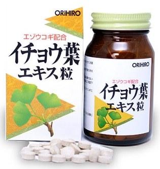 ORIHIRO Элеутерококк+ (Гинкго Билоба), таблетки 240 шт - Витамины и минералы