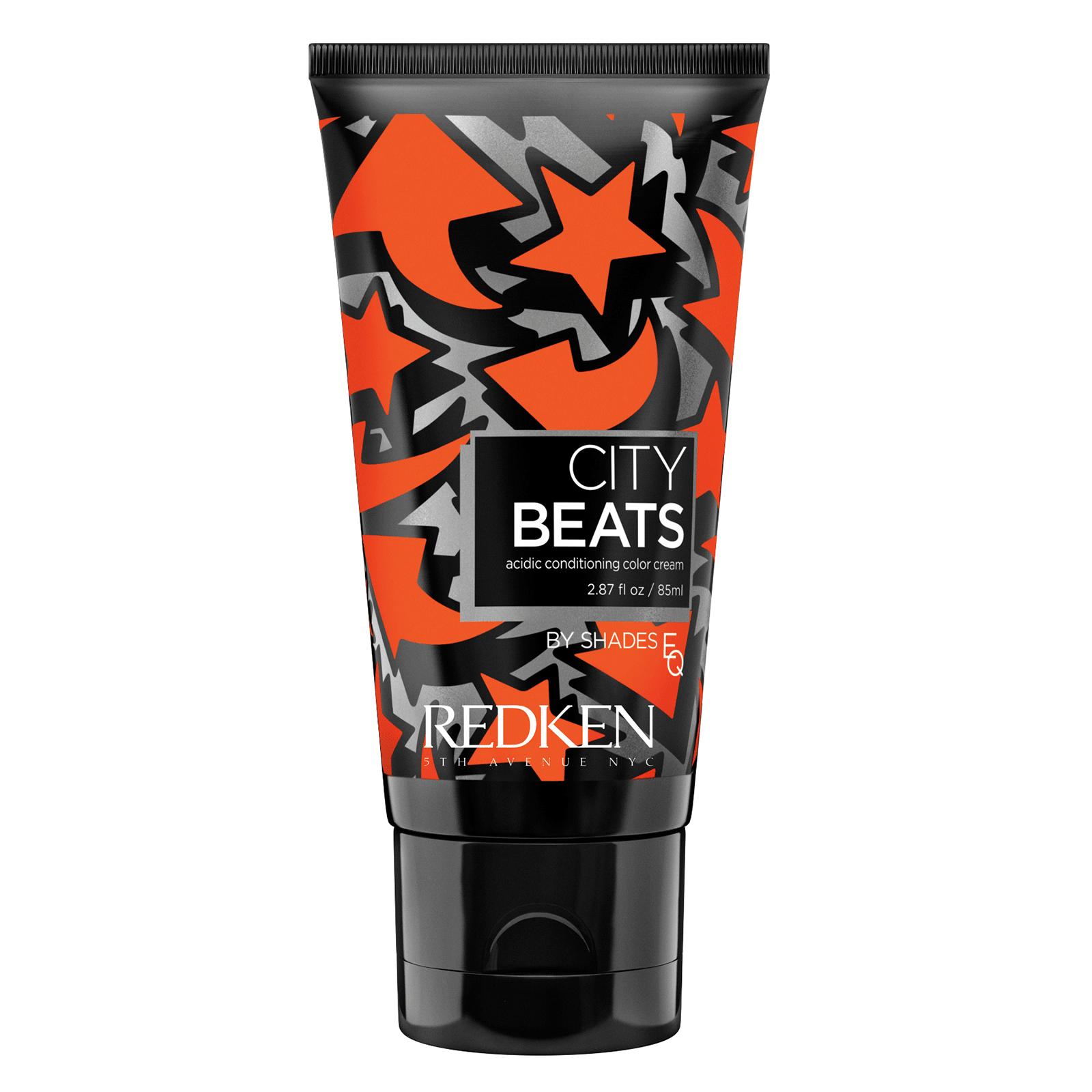 REDKEN Крем с тонирующим эффектом для волос Закат в Вест-Виллидж (оранжевый) / CITY BEATS 85мл