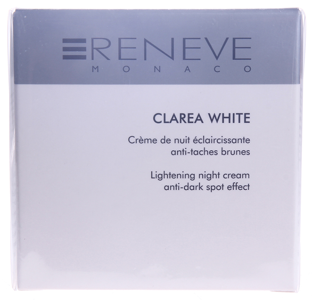 RENEVE Крем ночной осветляющий / Clarea White 50мл