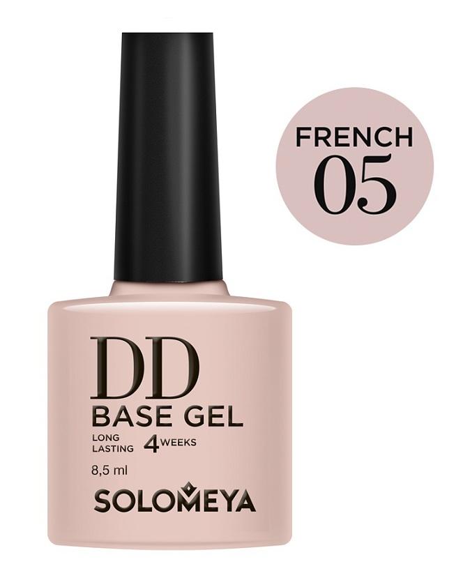 SOLOMEYA База-DD суперэластичная на основе нано-каучукового материала French 05 / DD BASE GEL Daily Defense 8,5мл