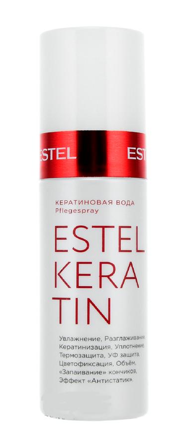 Estel professional вода кератиновая для волос