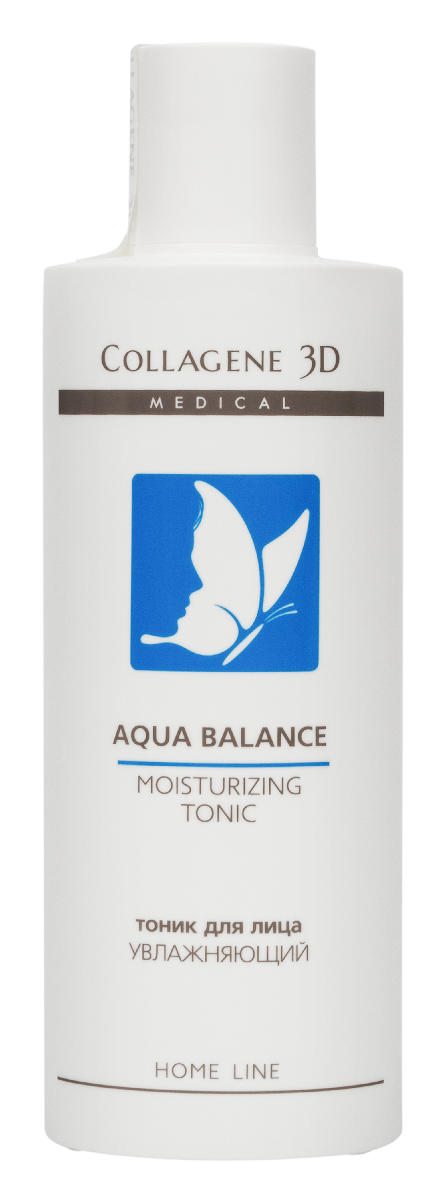 Фото #1: MEDICAL COLLAGENE 3D Тоник увлажняющий для лица / Aqua Balance 250 мл