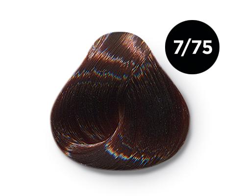 Купить OLLIN PROFESSIONAL 7/75 краска для волос, русый коричнево-махагоновый / OLLIN COLOR 100 мл