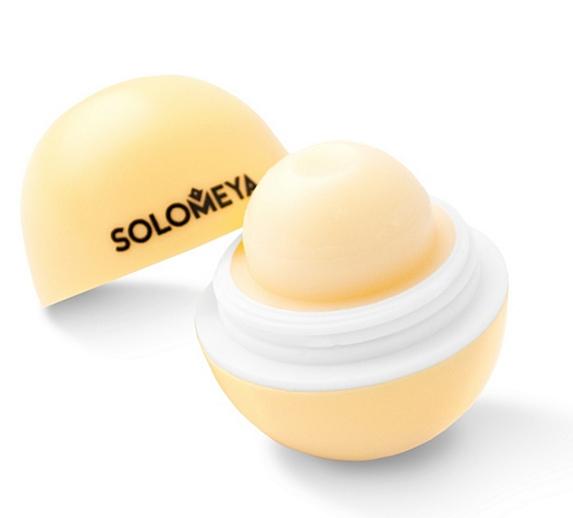 SOLOMEYA Бальзам для губ с ароматом Лимона / Lip Balm Lemon