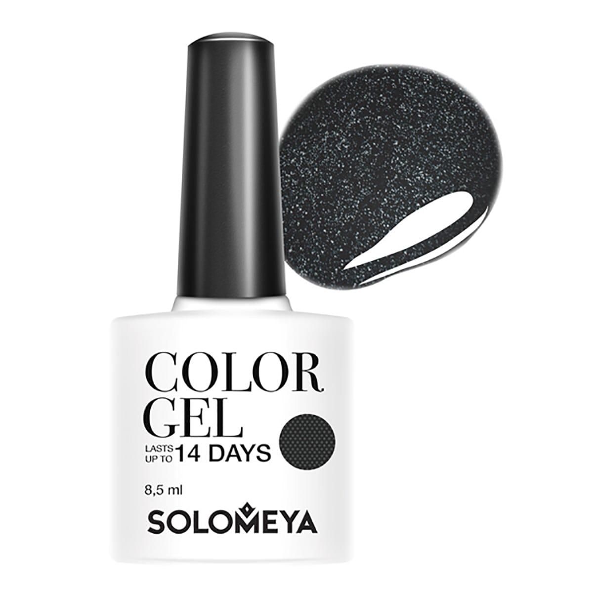 Купить со скидкой SOLOMEYA Гель-лак для ногтей SCG140 Картвил / Color Gel Cartwheel 8,5 мл