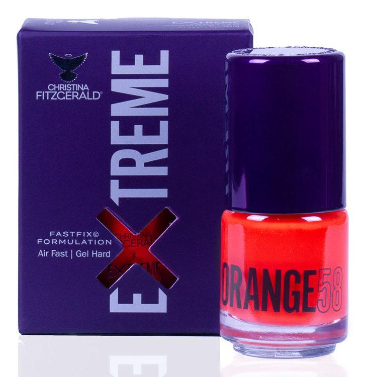 Купить CHRISTINA FITZGERALD Лак для ногтей 58 / ORANGE EXTREME 15 мл, Оранжевые