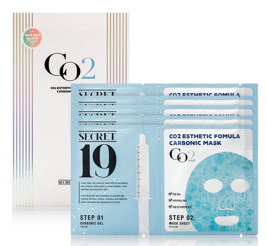 Купить ESTHETIC HOUSE Маска-активатор для процедуры неинвазивной карбокситерапии / SECRET19 CO2 Esthetic Formular Carboxy Mask Sheet 5 шт