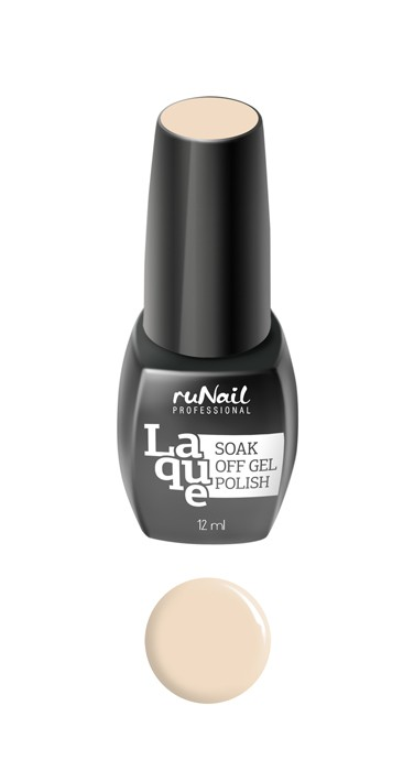 RuNail 2187 гель-лак для ногтей Идеальный френч / Laque Perfect French Manicure 12 мл