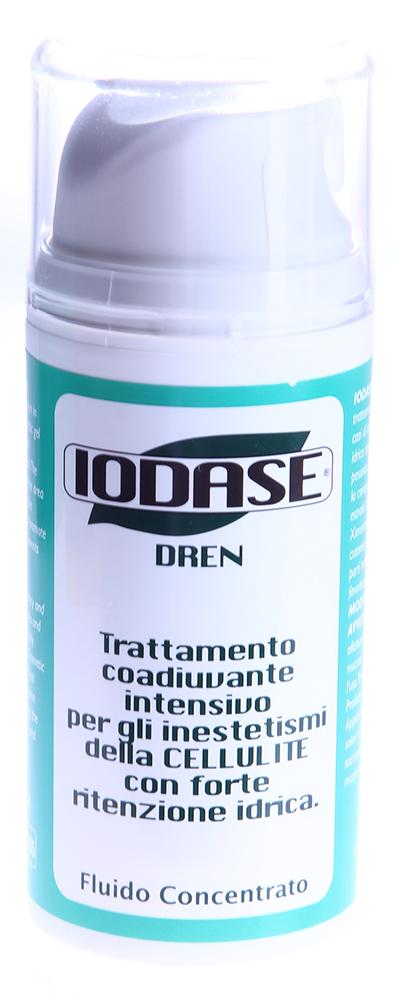 IODASE Сыворотка для тела / Dren 100 млСыворотки<br>Этот концентрированный флюид разработан специально для борьбы с целлюлитом, характеризующимся высоким содержанием застойной жидкости в организме. Благодаря особой форме жидкой сыворотки (флюида) IODASE DREN играет важную роль в уменьшении зон отечности в межклеточном пространстве, что очень важно подкреплять низкосолевой диетой и лимфодренажным массажем (даже в домашних условиях). Такой &amp;laquo;отечный&amp;raquo; целлюлит успешно поддается лечению на этой стадии даже при наличии достаточно высокого содержания застойной жидкости в организме. Массаж в домашних условиях (с использованием элементов лимфодренажа), выполненный с использованием сыворотки IODASE DREN, позволяет достичь двойного результата за счет мобилизации избыточной жидкости в организме, а также ее вывода. Сильными массирующими движениями следует втирать флюид, выполняя движения руками строго снизу вверх, от голеней к коленям, от коленей к бедрам и ягодицам. IODASE DREN отлично повышает тонус и упругость кожи, улучшает микроциркуляцию в подкожно-жировом слое.  Активные ингредиенты: Экстракт иглицы шиповатой, кверцетин, ксименическая кислота, экстракт бузины черной.  Способ применения: Наносить флюид 1-2 в день в интересующие зоны, массируя до полного впитывания средства. Постоянное применение позволяет достичь видимых результатов в течение 6-8 недель. Не содержит йод.  Меры предосторожности и противопоказания: Предназначено для наружного применения. Хранить в прохладном не доступном для детей месте. Не применять во время беременности и при грудном вскармливании.<br><br>Консистенция: Жидкая