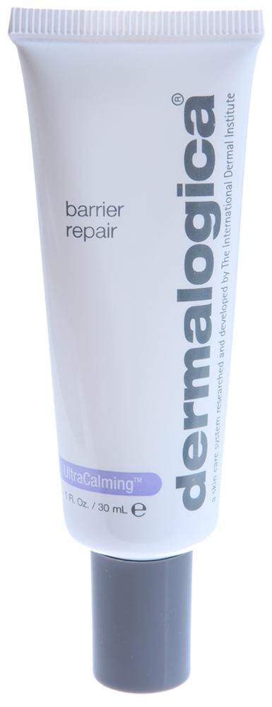 DERMALOGICA Восстановитель барьера / Barrier Repair ULTRA CALMING 30млКремы<br>Восстановитель барьера Barrier Repair от инновационного косметического бренда Dermalogica бережно успокаивает и защищает кожу лица. Богатый витаминами увлажнитель не содержит воды, что делает его еще более мягким. После механического пилинга коже требуется дополнительное питание и защита, для восстановления естественного барьера прекрасно подойдет Barrier Repair.&amp;nbsp; Активные ингредиенты: Комплекс UltraCalming , витамины C и E, масло семян огуречника и вечерней примулы, масло рисовых отрубей, силиконы.&amp;nbsp; Способ применения: Нанесите небольшое количество средства Barrier Repair на кожу лица и зону декольте утром и вечером. Максимальный эффект от средства наблюдается при комплексном использовании с другими средствами линии: UltraCalming Mist и UltraCalming Serum Concentrate.<br><br>Типы кожи: Чувствительная