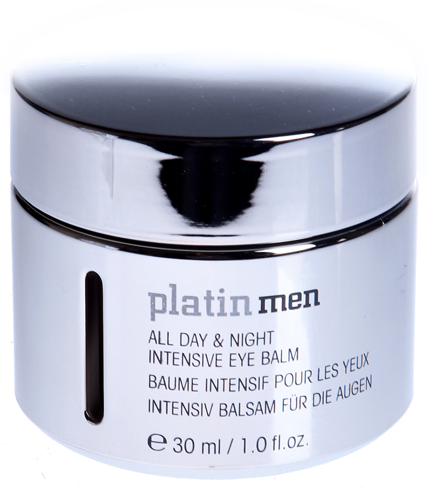 ETRE BELLE Бальзам для век мужской / Platinmen All Day Night Intensive Eye Balm SPF12 30млЛицо<br>Бальзам для кожи вокруг глаз интенсивно увлажняет и питает кожу. Активные высококачественные вещества, содержащиеся в бальзаме, такие как платина, борются с образованием морщинок и уменьшают отеки и темные круги под глазами. Бальзам обладает приятным, свежим мужским запахом Показание: для всех типов кожи мужчин Активные вещества: Наноплатина, косметин, Lumin-Eye, экстракт солода (Whisky), пантенол, аллантоин, протеины пшеницы, триглицериды, масло жожоба, масло дерева ши, миндальное масло, масло из виноградных косточек, фильтр SPF 12 Способ применения: Бальзам для век мужской необходимо наносить легкими похлопывающими движениями на кожу вокруг глаз.<br>