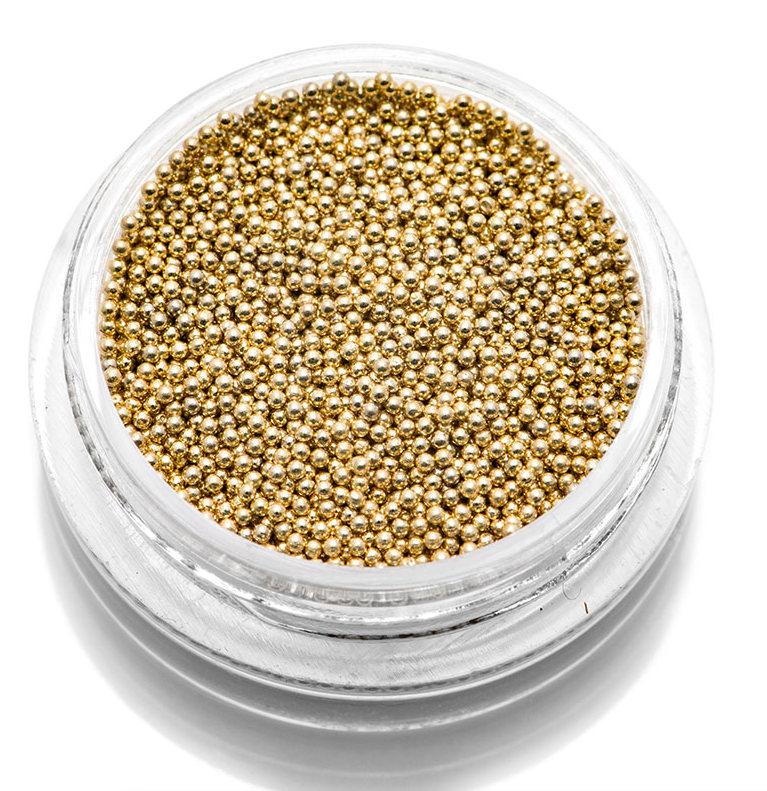 Купить TNL PROFESSIONAL Бульонки металлические, золото 0, 8 мм 7 г