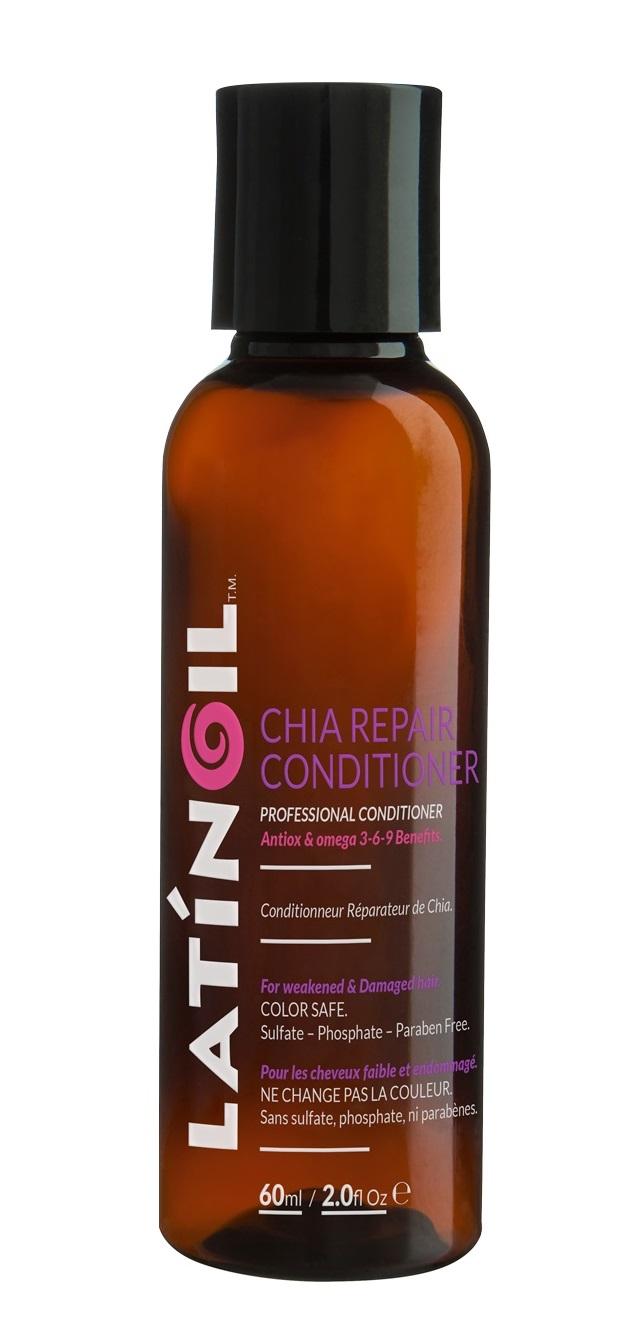 LATINOIL Кондиционер восстанавливающий с маслом чиа / CHIA REPAIR CONDICIONER 60 мл