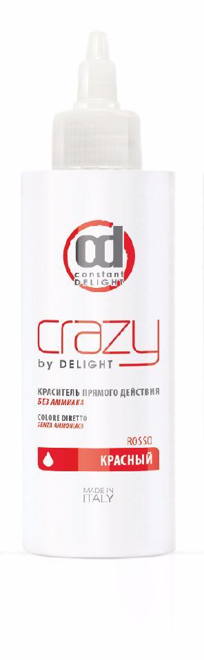 CONSTANT DELIGHT Краситель прямого действия без аммиака, красный / Crazy by Delight 150 мл