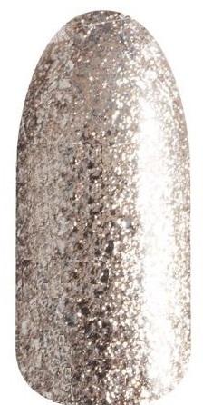RuNail 3756 гель-лак для ногтей, светлая бронза / Lurex 5 г