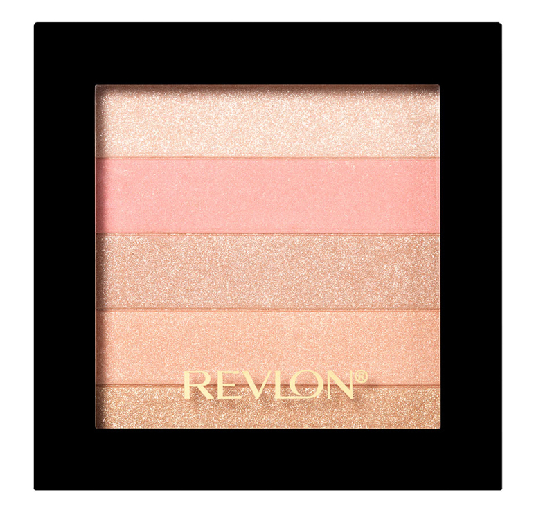 REVLON Палетка хайлайтеров для лица 020 / Highlighting Palette Rose glow - Румяна