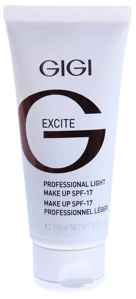 GIGI Основа тональная легкая SPF17 / Collection Light Make Up 100млТональные основы<br>Обеспечивает эффект свечения для кожи любого цвета. Служит универсальной основой под макияж, делая лицо матовым и гладким. Является одновременно увлажняющей эмульсией и легкой тональной основой. Ее можно использовать несколько раз в день, чтобы поправить макияж и избавиться от нежелательного блеска. Имеет солнцезащитный фильтр. Действие: Обладает способностью впитывать излишки кожного жира, не сушит кожу и поддерживает оптимальный гидробаланс. Активные ингредиенты: сквален, витамин Е, лецитин, гель Алоэ Вера, аллантоин, экстракт дрожжей, ВНТ.<br><br>Объем: 100