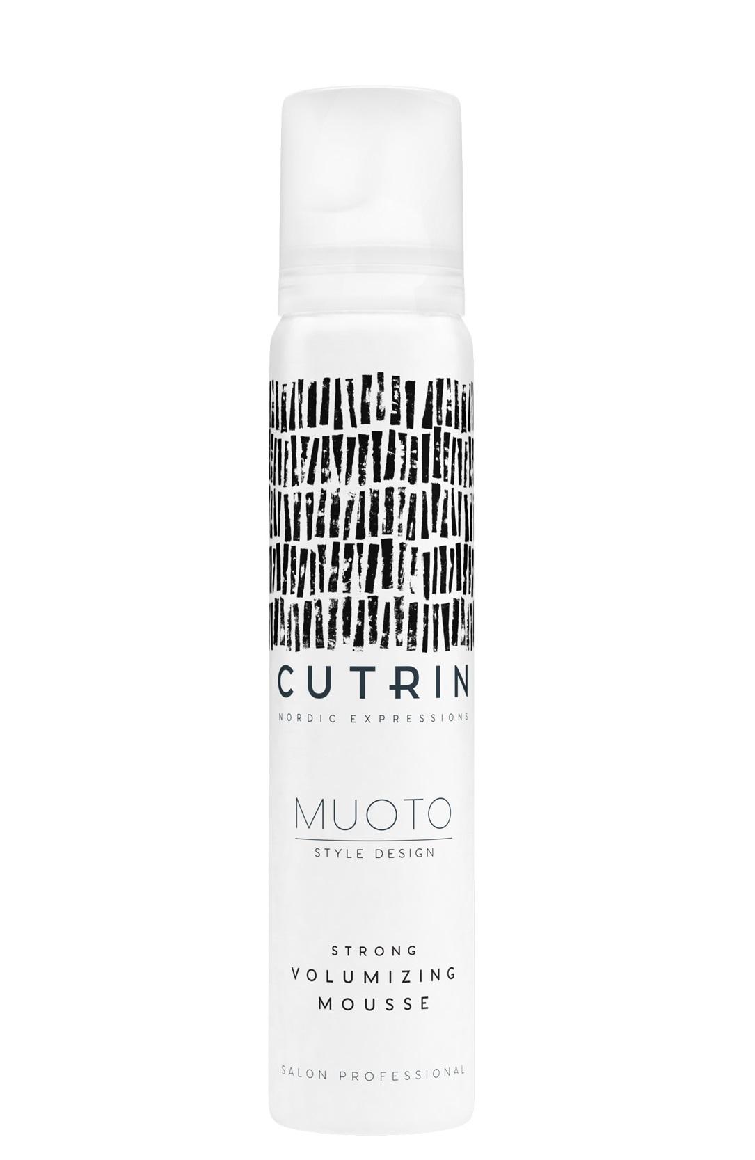 Купить CUTRIN Мусс для объема сильной фиксации / MUOTO STRONG VOLUMIZING MOUSSE 100 мл