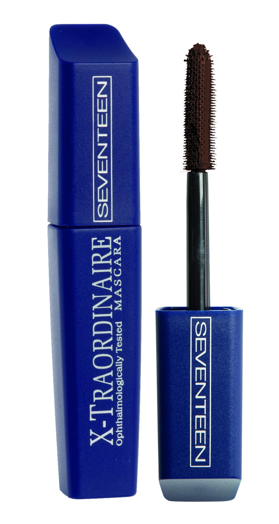 SEVENTEEN Тушь для ресниц удлиняющая, подкручивающая, объемная, 06 коричневая / X-Traordinare Mascara 12 г тушь для ресниц isadora hypo allergenic mascara 02
