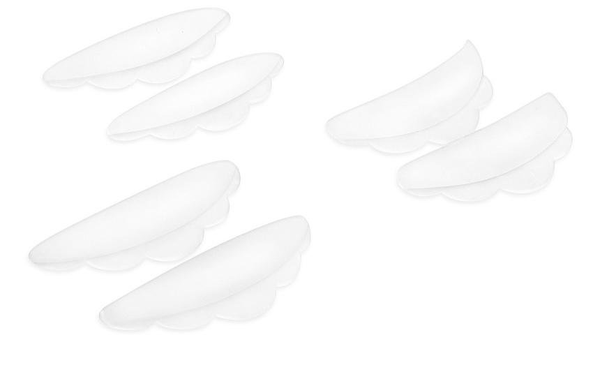 LUCAS' COSMETICS Валики для завивки ресниц / CC Lashes 6 шт