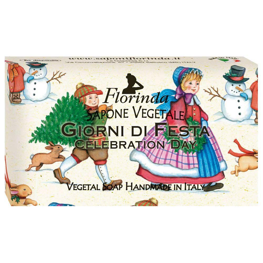 Купить FLORINDA Мыло растительное, праздничный день / Giorni Di Fiesta 100 г