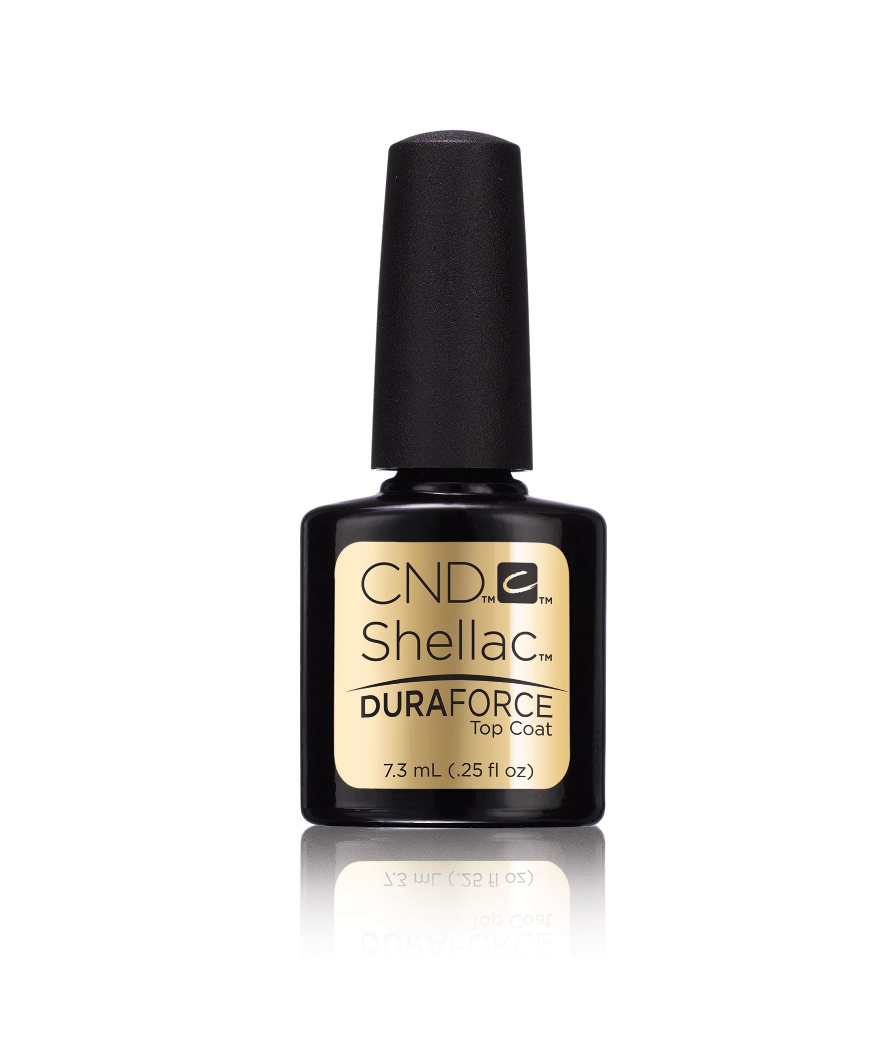 CND Покрытие верхнее /CND Shellac Duraforce Top Coat 7,3 мл cnd типсы 7 cnd clear performance 17338 50 шт