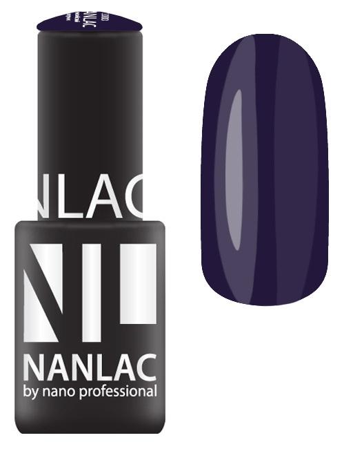 NANO PROFESSIONAL 2149 гель-лак для ногтей, пурпурный лоден / NANLAC 6 мл