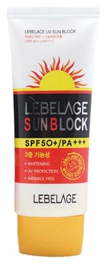 Купить LEBELAGE Крем солнцезащитный для лица SPF 50+ PA+++ 70 мл
