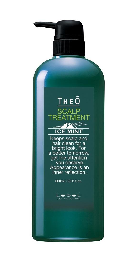Купить LEBEL Крем-уход для кожи головы и волос мужской Ледяная мята / THEO SCALP TREATMENT ICE MINT 600 мл