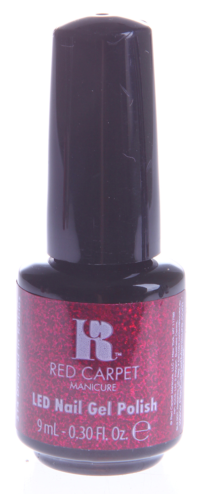 """RED CARPET 514 ����-��� ��� ������ """"Drapped in Rubies"""" / LED Gel Polish 9��~"""