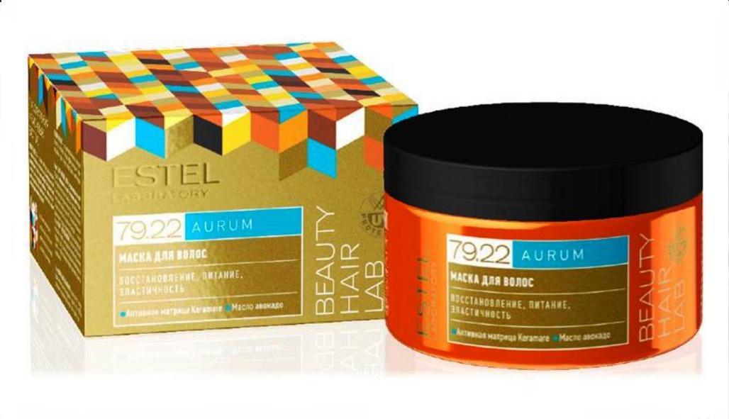 ESTEL PROFESSIONAL Маска для волос / BEAUTY HAIR LAB AURUM 250 мл масла estel драгоценное масло для волос estel beauty hair lab aurum 100 мл