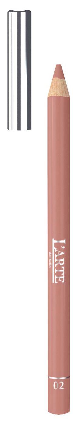 Купить LARTE DEL BELLO Карандаш для губ, тон 02 / PROFESSIONALE 1, 12 г
