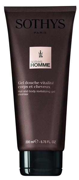 Купить SOTHYS Гель-шампунь ревитализирующий для волос и тела / SOTHYS HOMME 200 мл