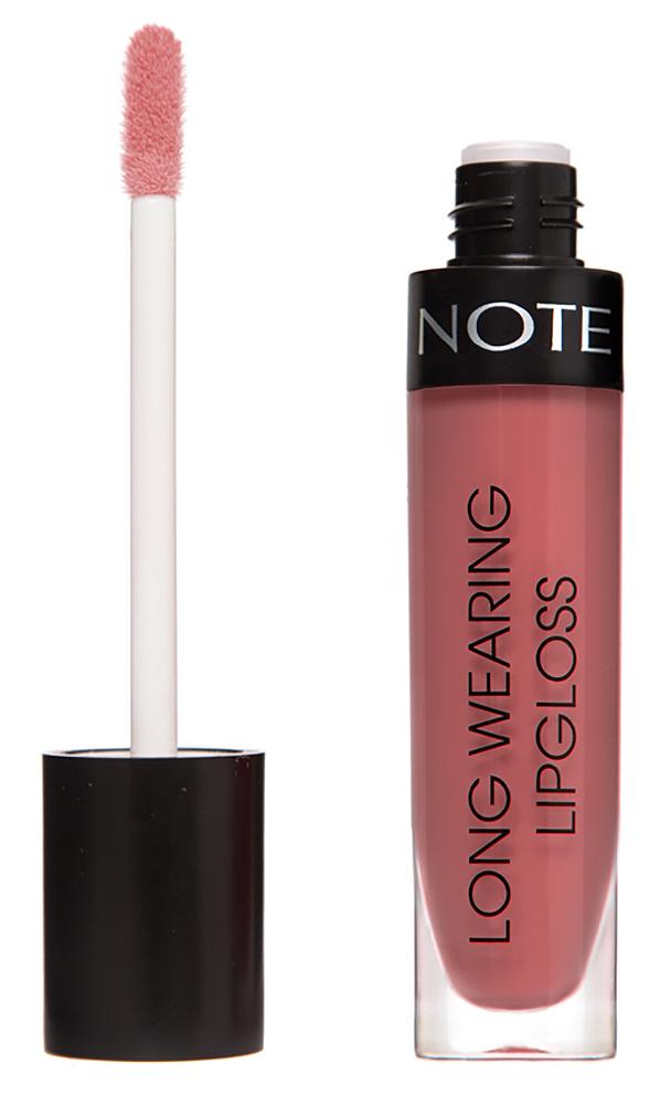 Купить NOTE Cosmetics Блеск стойкий для губ 23 / LONG WEARING LIPGLOSS 6 мл