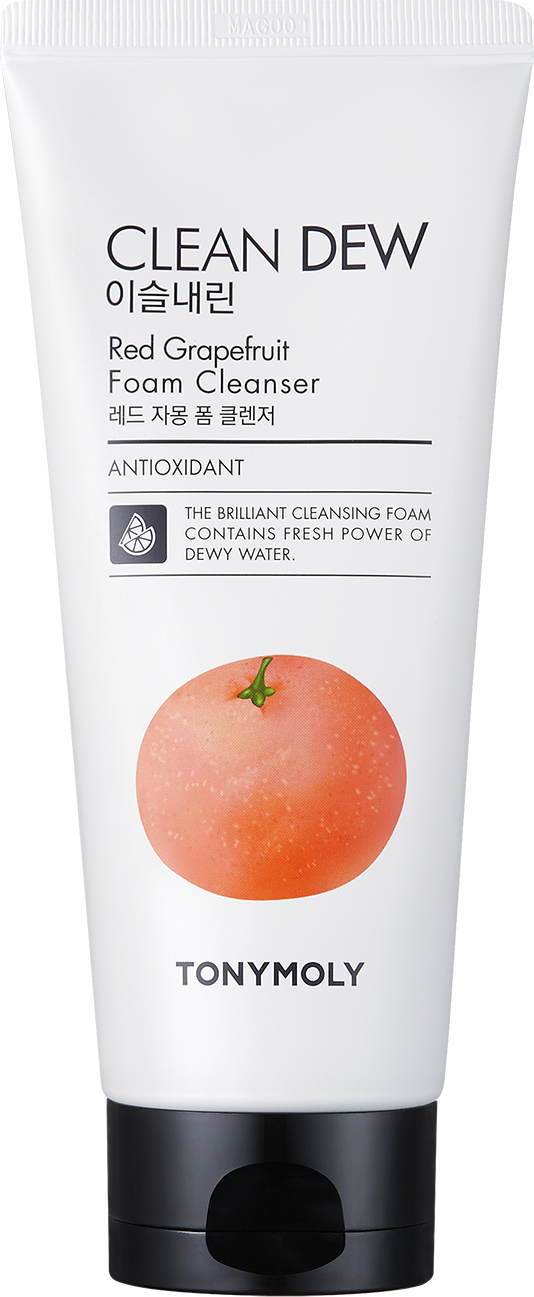 TONYMOLY Пена для умывания / Clean Dew Red Grapefruit Foam Cleanser 180 мл