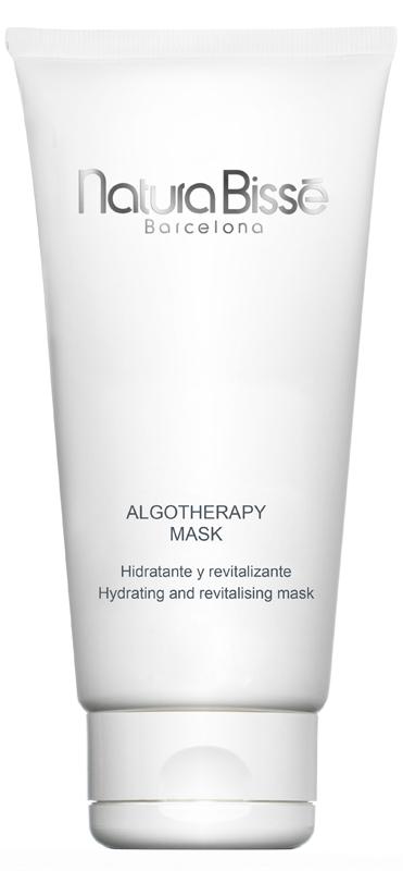 NATURA BISSE Маска с водорослями (фукус, спирулина, ламинария) / Algotherapy Mask 200млМаски<br>Революционная маска из 3-х видов морских водорослей (ламинария, фукус, спирулина) питает, омолаживает, увлажняет, очищает кожу, выравнивает цвет лица, стимулирует обновление клеток кожи. Лаванда придает маске нежный аромат. Подходит для всех типов кожи. Активные ингредиенты: ламинария, фукус, спирулина, лаванда. Способ применения: рекомендуется использовать 1-2 раза в неделю. Нанесите на предварительно очищенную кожу. Через 20 минут удалите маску при помощи теплой воды и спонжей. Затем нанесите крем по типу кожи.<br><br>Объем: 200