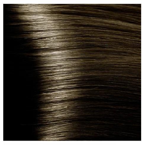 KAPOUS NA 6.00 краска для волос, темный блондин интенсивный / Magic Keratin 100 мл