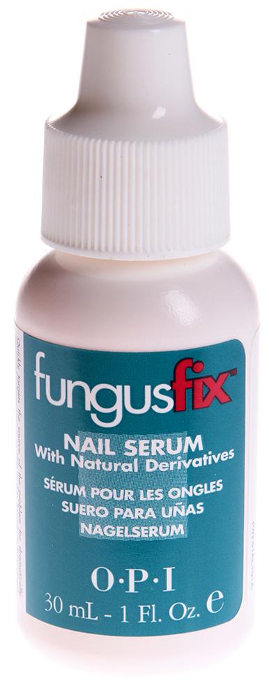 OPI Сыворотка от грибка / FungusFix 30млГрибок<br>Сыворотка для ногтей с натуральными компонентами  Фангус Фикс  является клинически проверенным профессиональным косметическим средством, предназначенным для борьбы с грибковыми заболеваниями ногтей. Его активными веществами служат ундециленоилглицин (Undecylenoyl Glycine) - широко используемый и надеждный натуральный компонент - и усиновая кислота (Uscin Acid) - натуральный продукт, получаемый из мха, который представлен в виде высокоэффективной сыворотки, воздействующей на причину заболевания и неузнаваемо улучшающей внешний вид ногтей в большинстве случаев в течении 2-3 недель. Активные ингредиенты: ундециленоилглицин (Undecylenoyl Glycine) - широко используемый и надежный натуральный компонент, и усниновая кислота (Usnic Acid) - натуральный продукт, получаемый из мха, которые представлены в виде высокоэффективной сыворотки, воздействующей на причину заболевания и неузнаваемо улучшающей внешний вид ногтей в большинстве случаев в течении всего лишь 2-3 недель. Способ применения: наносить дважды в день начистую и сухую поражённую поверхность.<br><br>Объем: 30<br>Назначение: Грибок
