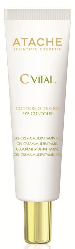 ATACHE Гель-крем мультивитаминный для контура глаз 15 мл фото