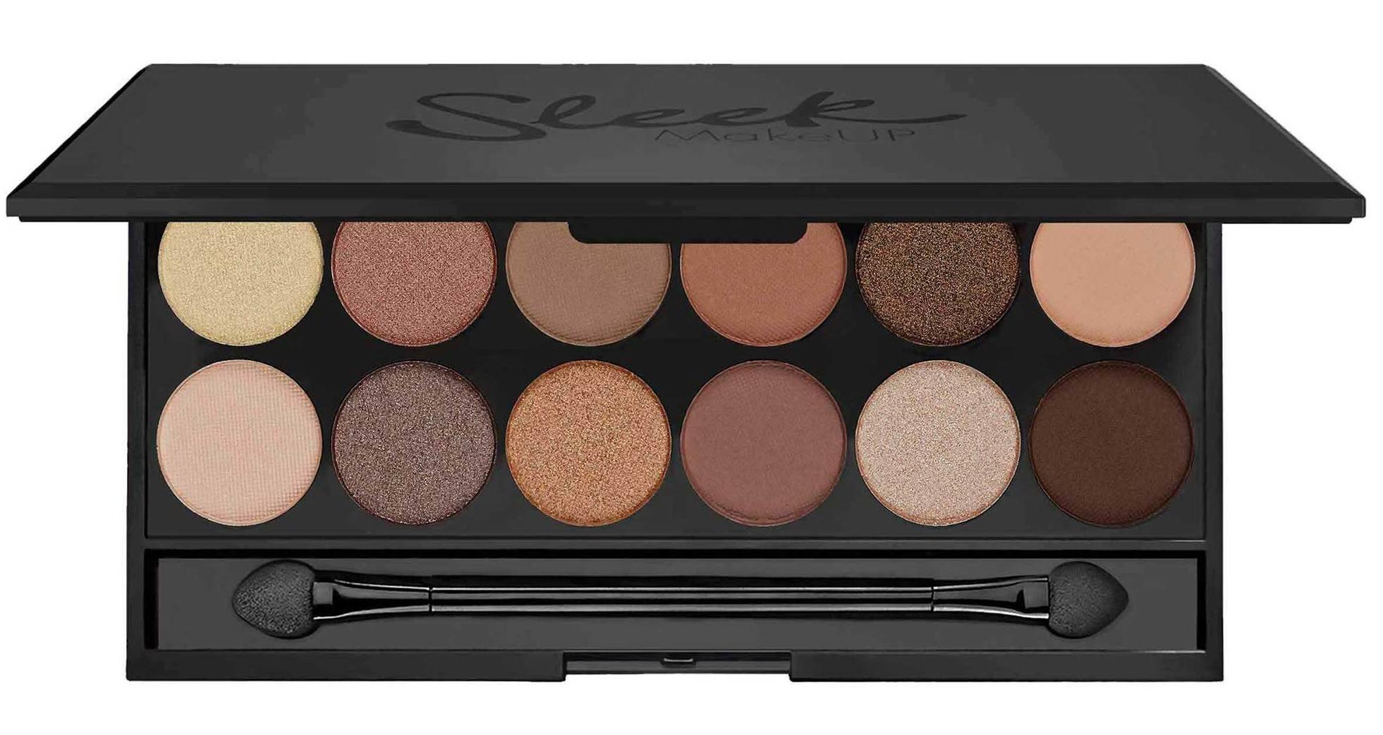 SLEEK MakeUP Палетка теней для век, 12 тонов / A New Day Eyeshadow Palette I-Divine 119 г - Тени