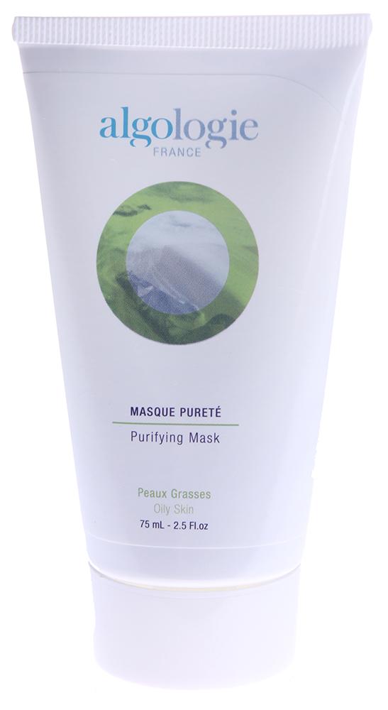 ALGOLOGIE Крем-маска очищающая 75млМаски<br>Целебная белая глина &amp;mdash; одно из лучших природных средств для ухода и терапии жирной кожи, склонной к воспалению. Идеальная впитывающая структура каолина эффективно освобождает от жира и подсушивает кожу лица. На её основе создана удобная для применения готовая маска   Algologie Крем-маска очищающая. Ещё в процессе наложения маски проявляются её противовоспалительные успокаивающие свойства, а регулярное её использование обеспечивает помимо деликатного нетравматичного очищения, также интенсивное увлажнение, стягивание расширенных пор, укрепление клеточных мембран кожи и подкожных структур, предотвращая их раннее увядание и старение.  Активные ингредиенты: Вода, каолин, запатентованный комплекс Algopure, лечебная морская грязь - ил, биомембраны дрожжей.  Способ применения: Набрать небольшое количество Algologie Крем-маска очищающая на ладонь и распределить тонким слоем на коже, избегая чувствительных мест и участков вокруг глаз. Выдержать маску 10 минут, затем осторожно смыть прохладной водой. Частота применения - 1-2 раза в неделю.<br><br>Тип: Крем-маска<br>Объем: 75