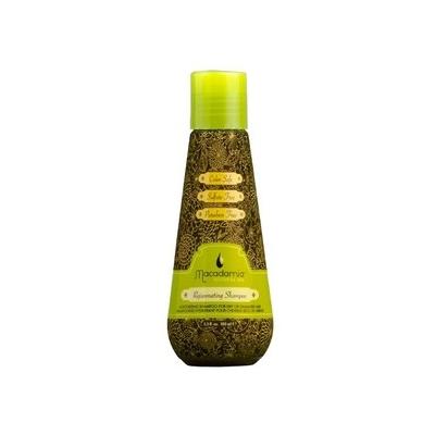 MACADAMIA Natural Oil Шампунь восстанавливающий с маслом арганы и макадамии / Rejuvenating Shampoo 100млШампуни<br>Увлажняющий шампунь для всех типов волос, особенно для сухих и поврежденных. Нежно очищает волосы, одновременно восстанавливая баланс влажности и защищая волосы от неблагоприятного воздействия окружающей среды. Активные ингредиенты: масло арганы, масло макадамии. Способ применения: Небольшое количество Шампуня нанесите на увлажненные волосы. Вспеньте. Смойте. При необходимости повторите.<br><br>Объем: 100<br>Вид средства для волос: Восстанавливающий