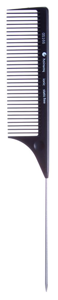 HAIRWAY Расческа HW с мет. хвостикомРасчески<br>Расческа HairWay с металлическим хвостиком 220 мм Расческа ионная из термостойкой пластмассы, обладающая антистатичным эффектом. Классический модельный ряд.<br>