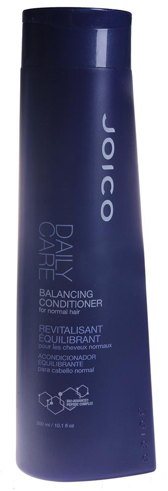 JOICO Кондиционер балансирующий для нормальных волос / DAILY CARE 300млКондиционеры<br>Кондиционер со сбалансированным рН. Кондиционирует, облегчает расчесывание и создает необходимый жизненный баланс на коже головы и волосах за 1 минуту. Гипоаллергенный. Способ применения: Нанести на чистые влажные волосы, выдержать 3 минуты, смыть теплой водой.<br><br>Типы волос: Нормальные
