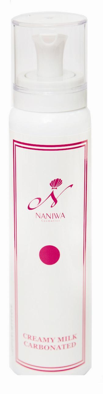 NANIWA Крем легкий для лица / CO2 Creamy milk 110млКремы<br>Крем прекрасно увлажняет, питает и омолаживает кожу, заботится о ее красоте. Эффективно защищает от негативного воздействия окружающей среды. Если Вас беспокоит старение кожи Creamy Milk   идеальное решение для поддержания всех жизненно-необходимых процессов в клетках кожи. Работа крема заключается в активизации и восстановлении процессов обновления кожи. Натуральный состав крема обладает следующими свойствами: ускоряет регенерацию клеток кожи, обладает лифтинговым эффектом, разглаживает мелкие морщины, нормализует кровообращение и дыхание клеток кожи, восстанавливает обмен веществ и выведение токсинов из клеток кожи на уровне молодой, здоровой кожи; максимально предупреждает старение кожи. Активные компоненты крема при нанесении на тщательно очищенную и подготовленную кожу, моментально начинают работать. Активные ингредиенты (состав): вода, BG, глицерин, полисорбат 80, феноксиэтанол, каприлилгликоль, масло лаванды, 2К глицирризиновой кислоты, Этилгексилглицерин, трегалоза, эктракт корня пиона, экстракт чайного листа, экстракт розмарина, полиглицерил-10 олеиновой кислоты, три (каприлат/ капрат), гиалуроновая кислота, экстракт лаванды, астаксантин, стеариновая кислота полиглицерил-10, лизолецитин, гидролизованный коллаген, токоферол, экстракт корня Pueraria mirifica, цианокобаламин, диоксид углерода, сжиженный газ, метилпарабен. Способ применения: нанести небольшое количество на лицо, шею и декольте, легко распределите по поверхности кожи, не втирая. Перед использованием хорошо встряхните. Используйте баллон в вертикальном положении.<br><br>Вид средства для лица: Легкий<br>Назначение: Морщины