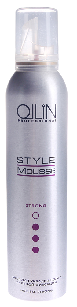 OLLIN PROFESSIONAL ���� ��� ������� ����� ������� �������� / Mousse Strong STYLE 250��