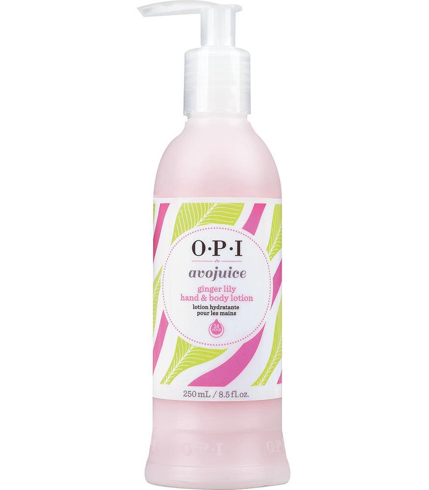OPI Лосьон для рук Имбирная лилия / AVOJUICE 250мл opi лосьон для рук и тела opi avoplex moisture replenishing lotion av711 30 мл